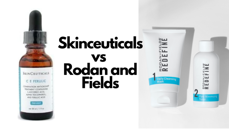 Skinceuticals vs Rodan and Fields