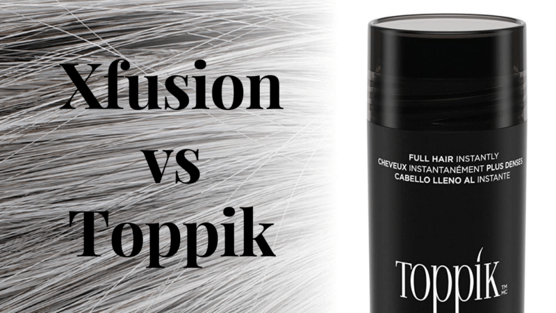 Xfusion vs Toppik for Haircare in 2021