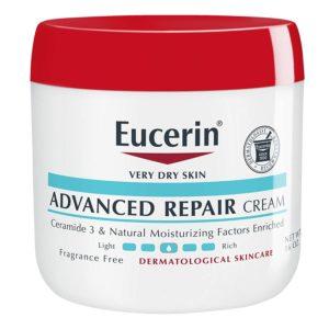 Curél vs Eucerin