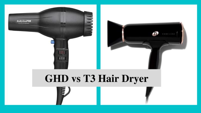 The Best Hairdryer: GHD vs T3 Hair Dryer