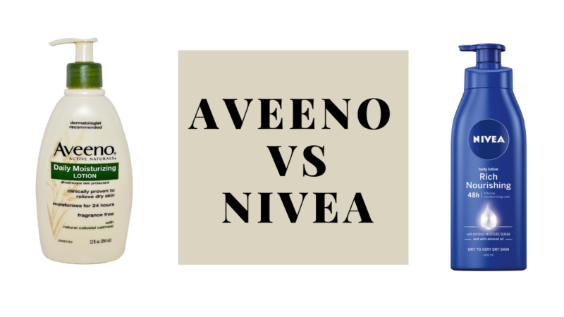 Which One Is Best: Aveeno Vs Nivea