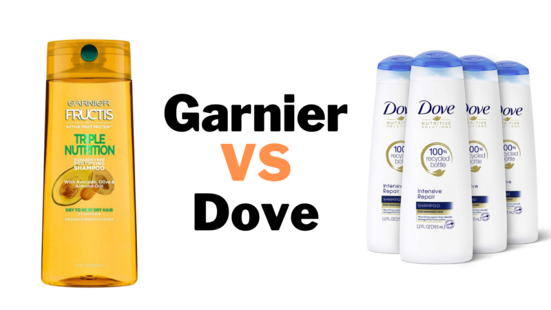 KnowThe Difference & Choose The Best Of Garnier vs Dove
