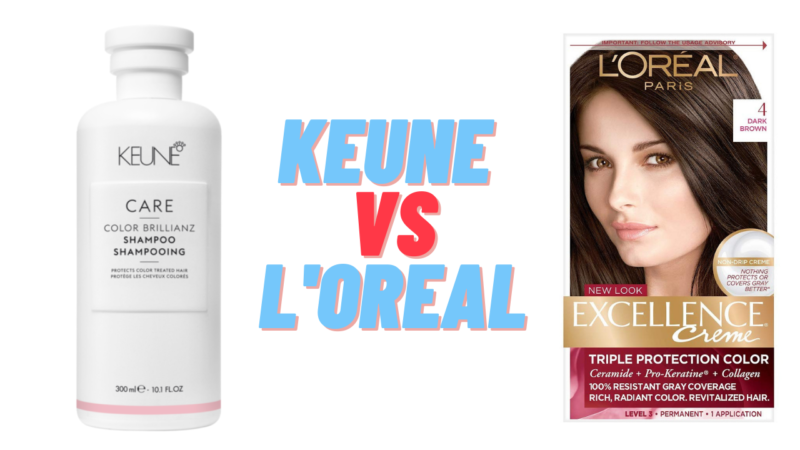 Keune vs L'Oreal: features of the brand
