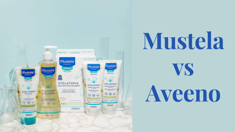 How to Choose the Best- Mustela vs Aveeno