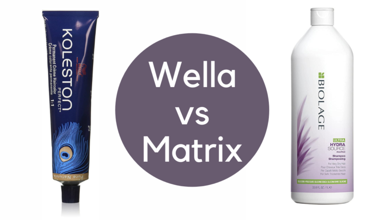 Which Is The Best for Colored Hair: Wella vs Matrix