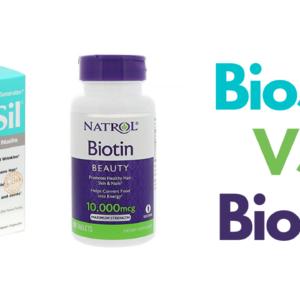 BIOSIL vs BIOTIN