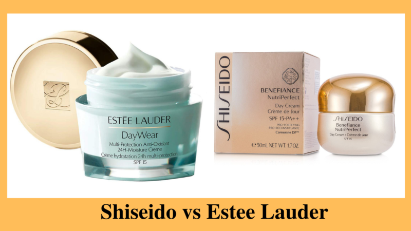Detailed Comparison Between Japanese Brand Shiseido Vs Estee Lauder